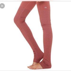 ALO yoga goddess leggings rose